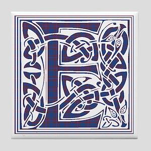 Monogram - Elliot Tile Coaster