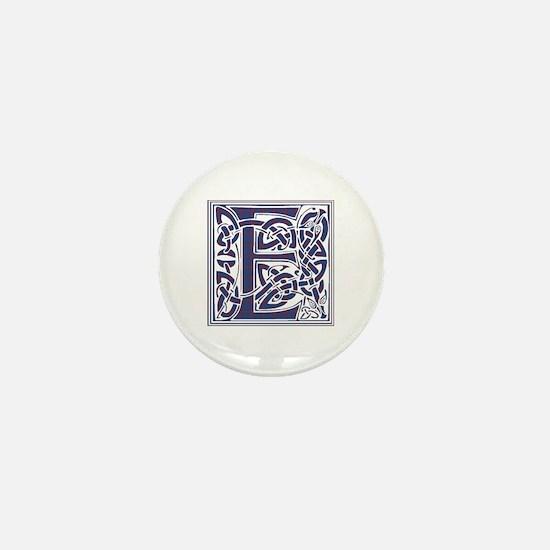 Monogram - Elliot Mini Button