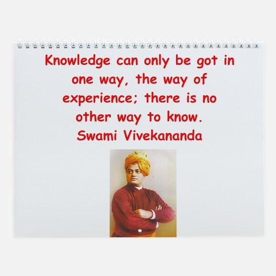 Indian Wisdom Wall Calendar