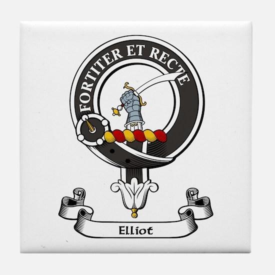 Badge - Elliot Tile Coaster