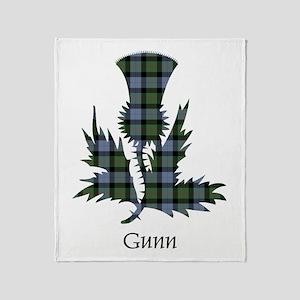 Thistle - Gunn Throw Blanket