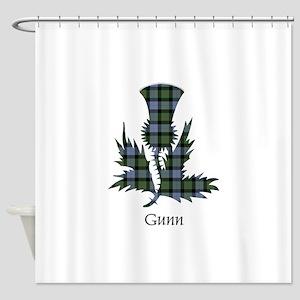 Clan Gunn Tartan Shower Curtains