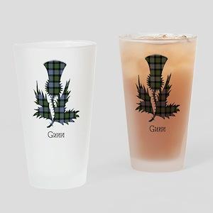 Thistle - Gunn Drinking Glass