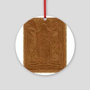 Mauritius symbol Ornament (Round)
