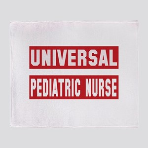 Universal Pediatric Nurse Throw Blanket