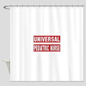 Universal Pediatric Nurse Shower Curtain