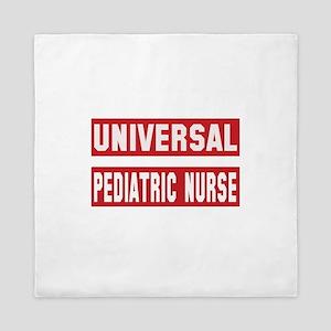 Universal Pediatric Nurse Queen Duvet