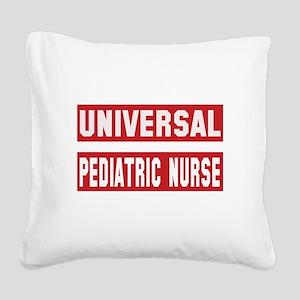Universal Pediatric Nurse Square Canvas Pillow