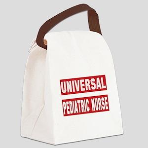 Universal Pediatric Nurse Canvas Lunch Bag