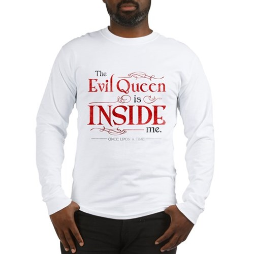 The Evil Queen is Inside Me Long Sleeve T-Shirt