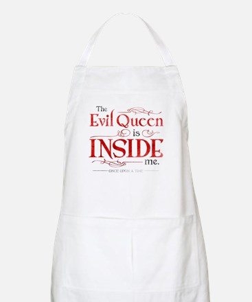 The Evil Queen is Inside Me Apron