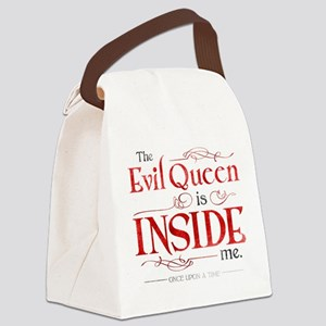 The Evil Queen is Inside Me Canvas Lunch Bag