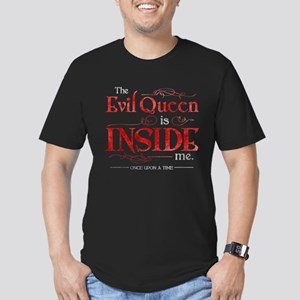 The Evil Queen is Insi Men's Fitted T-Shirt (dark)
