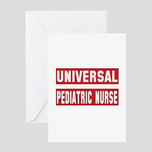Universal Pediatric Nurse Greeting Card