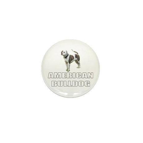 American Bulldog Mini Button (10 pack)