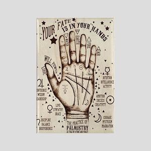 Vintage Palmistry Magnets (10 Pack)