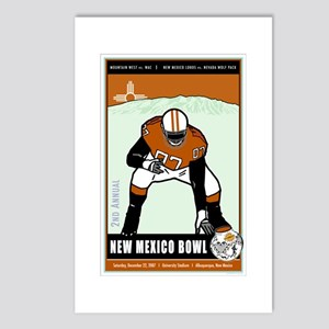 New Mexico Bowl 2007 Postcards (Package of 8)