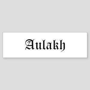 Aulakh Bumper Sticker