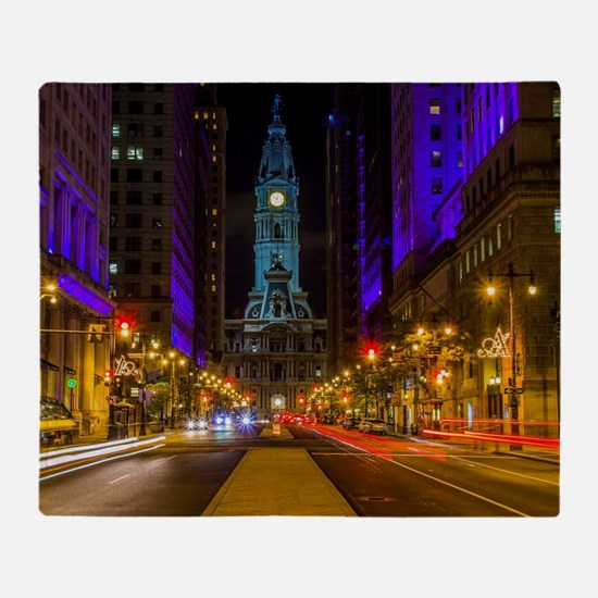 Cute Philly Throw Blanket