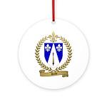 DUBE Family Crest Ornament (Round)