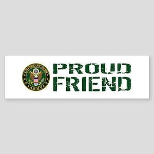 U.S. Army: Proud Friend (Green & Sticker (Bumper)