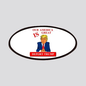 Our America Is Great Deport Trump Patch