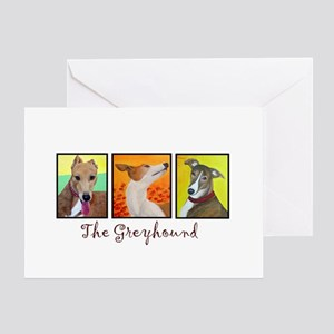 The Greyhound Greeting Cards
