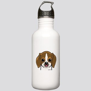 Beagle Puppy Sports Water Bottle