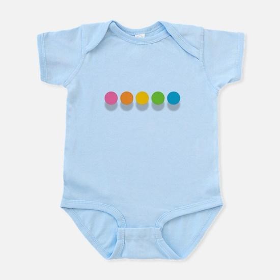 Rainbow Dots Body Suit