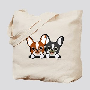Cute Puppies Tote Bag