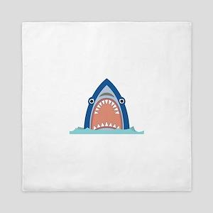 Shark Face Queen Duvet