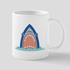 Shark Face Mugs