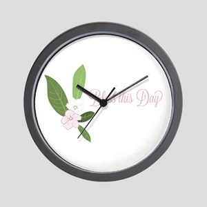 Bless This Day Wall Clock