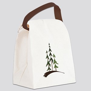 Forest Trees Canvas Lunch Bag