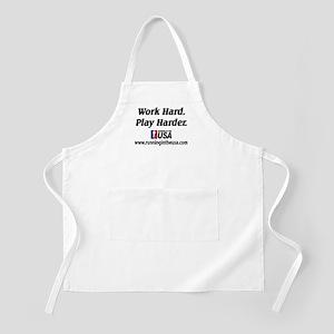 RUSA - Work Hard. Play Harder BBQ Apron