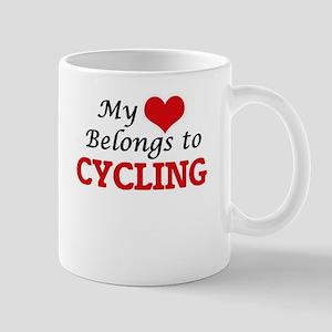 My heart belongs to Cycling Mugs