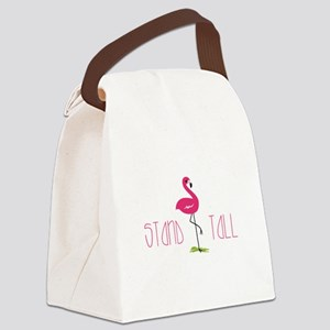 Stand Tall Canvas Lunch Bag