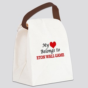 My heart belongs to Eton Wall Gam Canvas Lunch Bag
