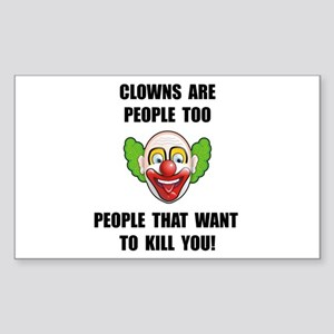 Clown Kill Sticker