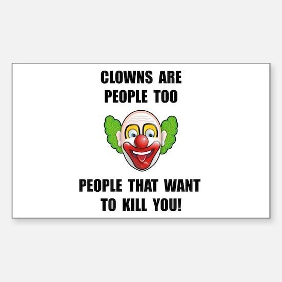 Clown Kill Decal