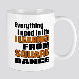 I Learned Square dance Mug