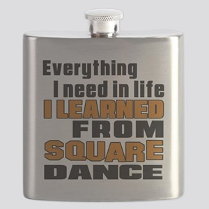 I Learned Square dance Flask