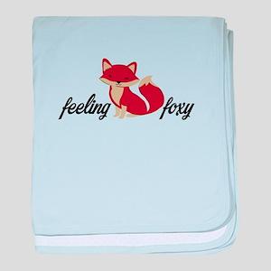 Feeling Foxy baby blanket