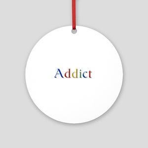Google Addict Ornament (Round)