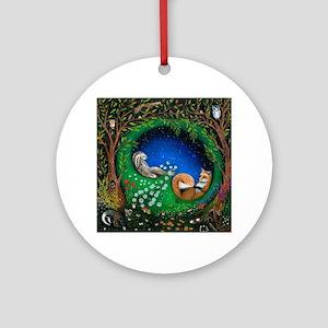 Midsummer Night's Dream Round Ornament