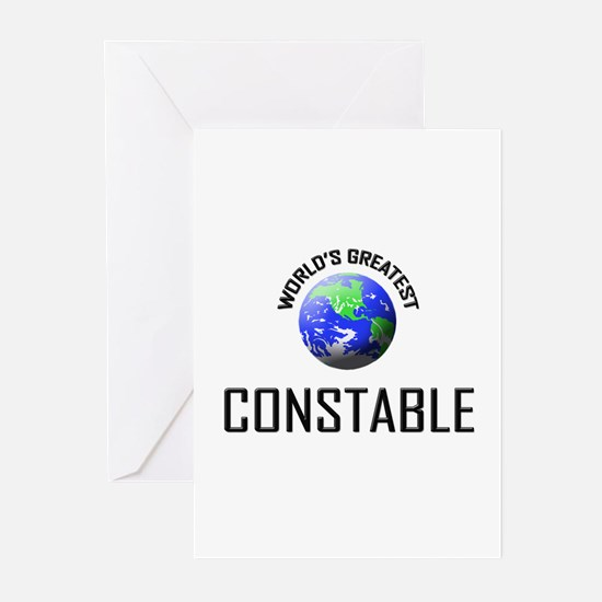 World's Greatest CONSTABLE Greeting Cards (Pk of 1