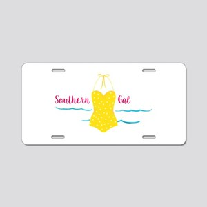 Southern Gal Aluminum License Plate