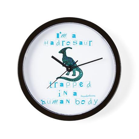 I'm a Hadrosaur Wall Clock