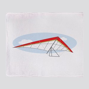 Hang Glider Throw Blanket