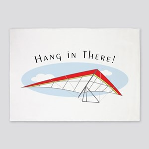 Hang In There 5'x7'Area Rug